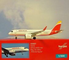 Herpa Wings 1:500  Airbus A320neo  Iberia  EC-MXU  533027  Modellairport500