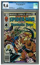 Marvel Team-Up #133 (1983) Bronze Age Spiderman Fantastic Four CGC 9.6 AA612