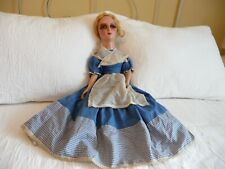 Antique Vintage Boudoir Bed Doll Eyelashes