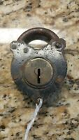 Civil War, CS Confederate Lock Id'd W.M. Ross Sargent authentic  padlock