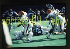 1990 Vince Newsome #22 - Cleveland Browns - Original NFL Football 35mm Slide