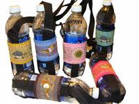 1L Water Bottle Holder Adjustable Strap Cotton Manta Peru Lot Wholesale 3 PK Lot