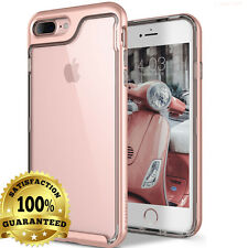 Full Body Protective 360° Shockproof Case Hard Slim Cover iPhone X 6 6s 7 8 Plus for iPhone 6 Rose Gold / Clear