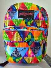 JanSport Backpack Superbreak School Bag Book Back Pack Multi-color - Unisex