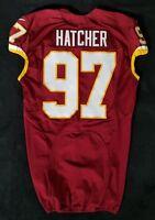 #97 Jason Hatcher of Washington Redskins NFL Locker Room Game Issued Jersey