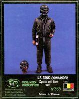 Verlinden 1:35 US Tank Commander Special Anti-Blast Suit Resin Figure Kit #365