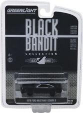 Greenlight Black Bandit 1976 Ford Mustang Ii Cobra Ii