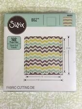 "Sizzix BIGZ Fabric-Cutting Die | 800005  SQUARE 4"" Finished (4.5"" Unfinished)"