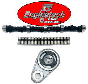 Stage 1 Camshaft Lifters & Timing Set for Chevrolet SBC 350 5.7L 420/443 Lift