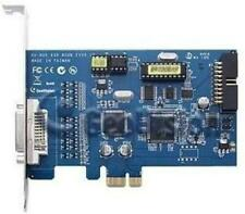 GeoVision GV-600B-4 4 Channel DVR Video Capture Card DVI PCI-E4 /1 Audio 8.55/30