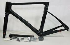 Factor One 54cm Carbon Aero Road Rim Brake Frame Black (Without Bar-stem)