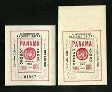 Panama # C243 Vf Og Nh Error Stamp S/S Scarce