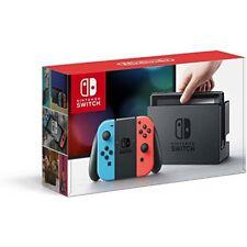 Nintendo Switch Neon-Rot/Neon-Blau Joy-Controller Bundle 32GB Grau Spielkonsole