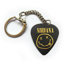 NIRVANA Guitar pick plectrum picks band music grunge keyring key chain