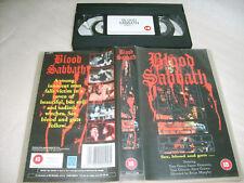 VHS *BLOOD SABBATH - Sex Blood and Guts(1972)* UK Screen Issue Cult*exploitation