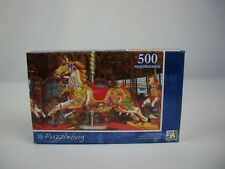 New Puzzlebug Jigsaw Puzzle 500 Pieces: Carousel Horse Ages 8+