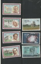 BELIZE STAMPS SETS  MNH   11 1219