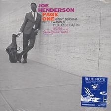 Joe Henderson - Page One (Vinyl LP - 1963 - US - Reissue)