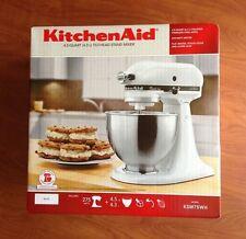 KitchenAid KSM75WH Classic Plus White 4.5 Qt. Tilt Head Stand Mixer Brand New!