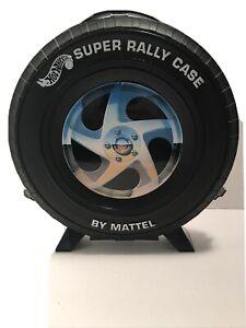 Vintage 1993 Mattel Hot Wheels 20 Car Super Rally Case