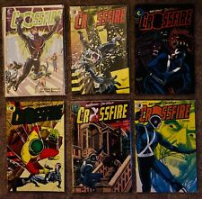 Eclipse Comics Crossfire Lot of 23 & Crossfire and Rainbow #1-4. VF/NM
