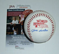 BREWERS Jim Gantner signed 1982 World Series baseball JSA COA AUTO Autographed