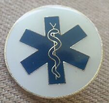 EMERGENCY MEDICAL SERVICES  EMS LAPEL PIN HAT TAC NEW
