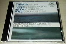 J A CARPENTER-SEA DRIFT-FIRST ISSUE CD 1984-JULIUS HEGYI-NO BARCODE-RARE-MINT