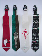 TIM BURTON'S NIGHTMARE BEFORE CHRISTMAS TIE COLLECTION JACK SANTA CLAUS ZERO