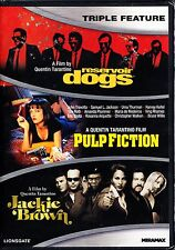 QUENTIN TARANTINO TRIPLE - RESERVOIR DOGS / PULP FICTION / JACKIE BROWN DVD R1