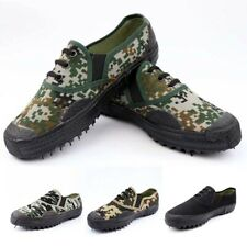 Outdoor Mens Liberation Shoes Slip Resistant Camouflage Training Combat Loafers