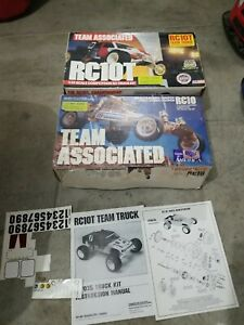Associated Rc10 & 10t Box Only with instructions