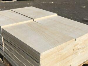 Natursteinplatten 60x30x2cm Sandstein Hofplatten Pflasterstein Terrassenplatten