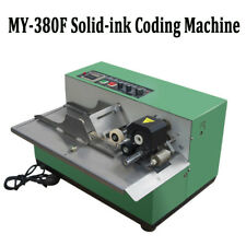 MY-380F Vautomatic For Product Date Coding Machine Coder Dry Ink Batch