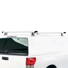 """J1000 Ladder roof rack w/ 55"""" bars for Pickup Topper & Cap White RETURNED"""