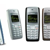 Nokia 1112- BLUE & Black (Unlocked) Mobile Phone.+ Warranty phone / FULL SET