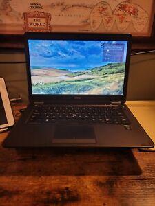"""Dell Latitude E7450 14"""" FHD Laptop i7-5600U 16GB RAM 256GB SSD Win10 Pro"""