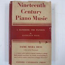 Libro Siglo XIX música de piano Kathleen Dale, Dame Myra Hess