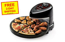 Presto Pizzazz Plus Rotating Oven 03430 Bake Pizza