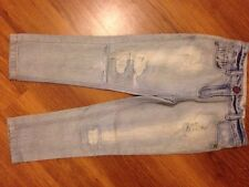 Next Girls Distressed Jeans Age 6yrs