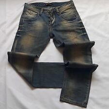 Gucci Jeans Mens Blue Jeans Size W 31 Skinny Men Washed 100% Cotton
