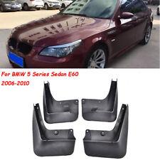 NEW OEM Set Sport Mud Flaps Splash Mud Guard Fit BMW 5 Series Sedan E60 06-2010