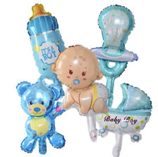 5 teiliges Set Folienballon IT'S A BOY 👶 Baby Shower Party Geburt 🎈 👶 🎉