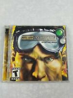 COMMAND & CONQUER RENEGADE OPERATIONS MANUAL * 2 DISC PC CD VIDEO GAME * RATED T