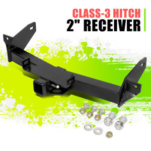 """2"""" Class-3 Tow Hitch Receiver Black w/Pin for Lincoln Mark LT Ford F-150 06-08"""