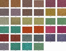 15/0 Toho Japanese Seed Beads Permanent Finish Metallic + Matte 34 Colors Total!