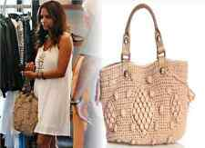 GORGEOUS!!! GERARD DAREL Boho SYRACUSE Long Popcorn Crochet Knit Bag Handbag