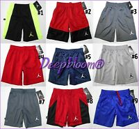 NIKE AIR JORDAN SHORTS BOYS BASKETBALL KIDS YOUTH DRI FIT SZ 4 5 6 7 NEW