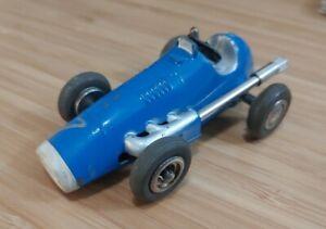 Vintage Schuco Micro Racer 1040 #7 Ferrari Blue Works!
