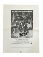 Star Wars Empire Strikes Back Original Media Press Movie Poster 17x23 1980 #4